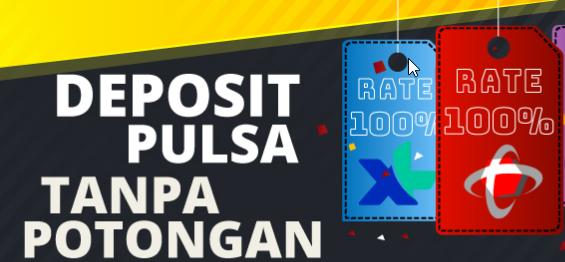 depsoit pulsa tanpa potongan 100 - Poker Deposit Pulsa Paling Gampang Top Up Bonus Tiap Hari